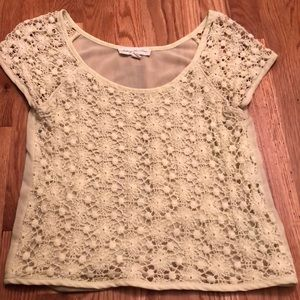 UO Staring at Stars Crochet Top